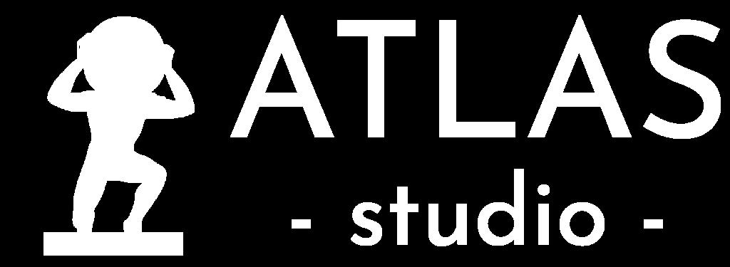 Atlas Studio Logo blanc - atlas-studio.fr