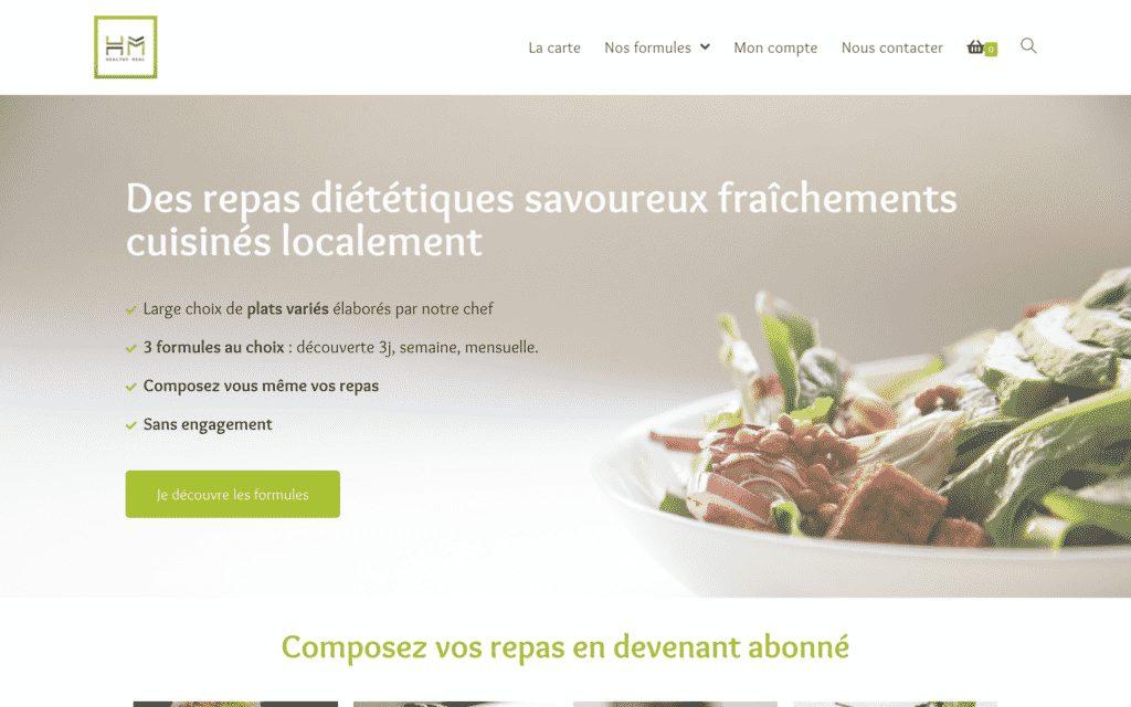 Site de livraison de repas à Bayonne - Site de prise de commande
