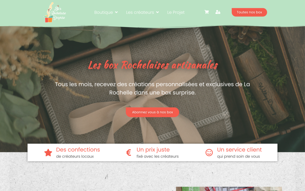 Box Rochelaise Surprise - Home Page