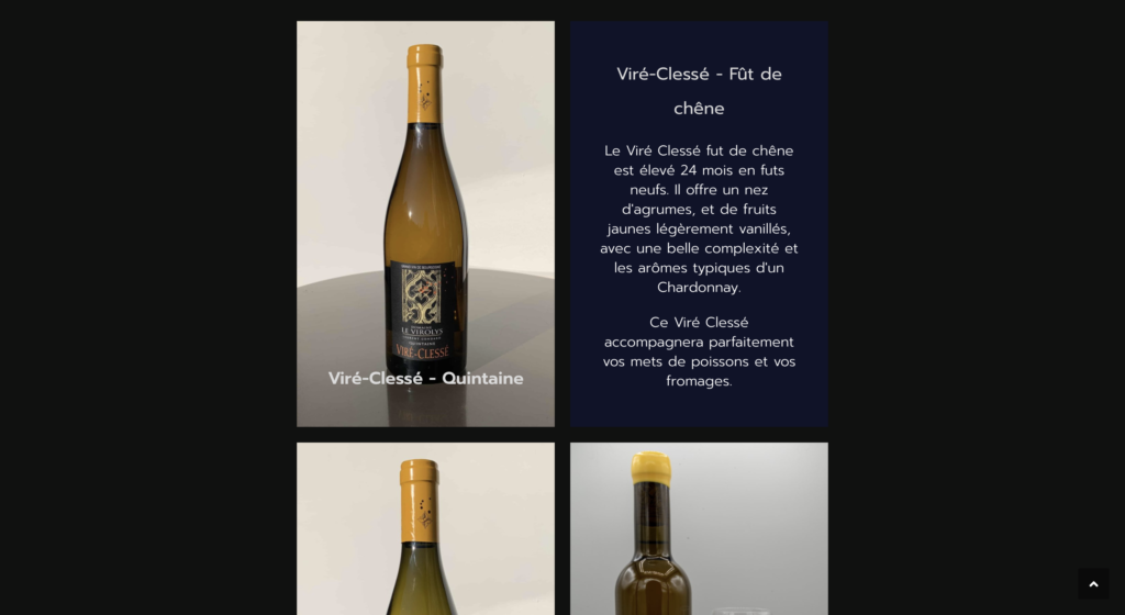 Domaine le Virolys site internet vitrine multilingue (2)