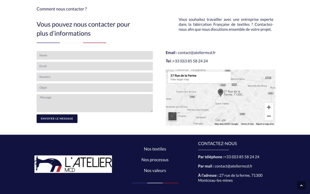 L'atelier MCD - Site vitrine vêtements fabriqués en France (4)