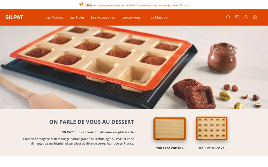 Silpat - Automatisation d'email - Site e-commerce